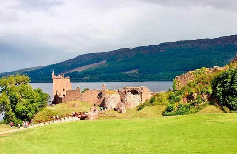 Schottland mit dem Wohnmobil entdecken. Route nach Loss-Ness.