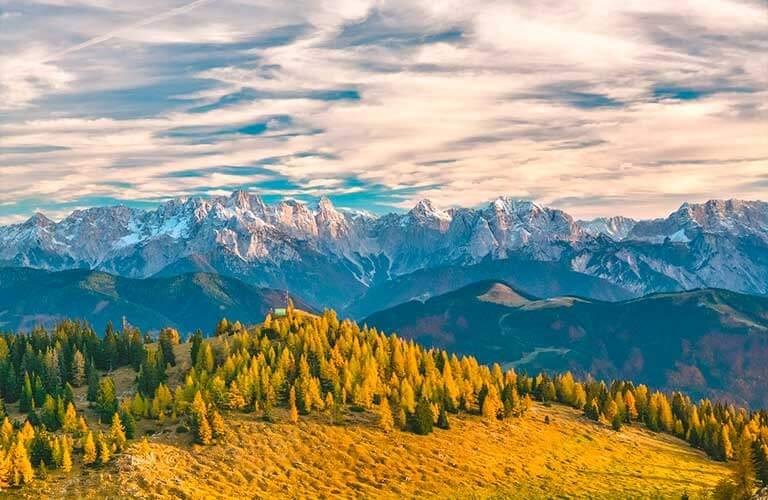 Die österreichischen Alpen